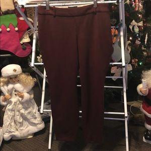 💋J CREW MINNIE DRESS PANTS